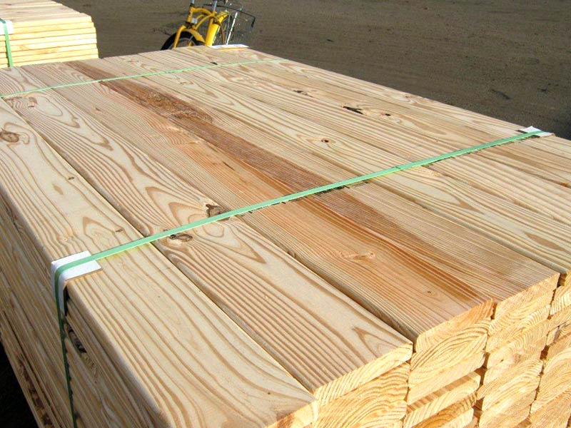 Southern Yellow Pine Wood Decking Manufacturer Inindore