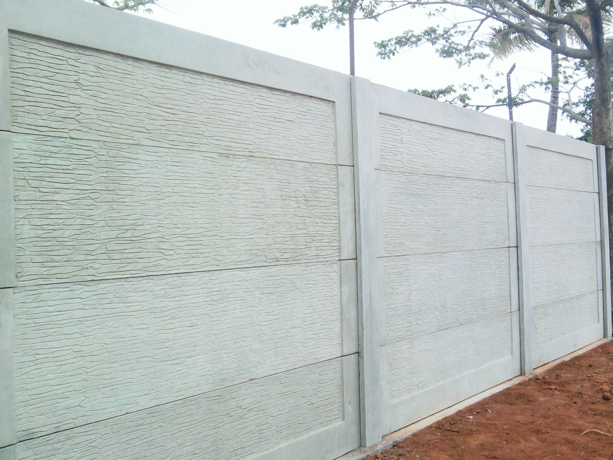 Precast Compound Wall : Precast compound wall manufacturer from