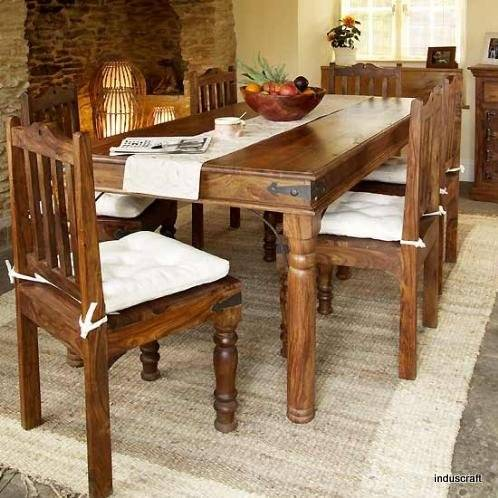 Buy Modern Dining Table From Induscraft India ID 729470