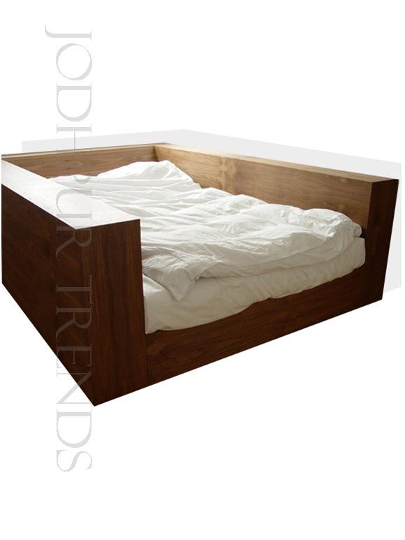 Unique platform wooden bed manufacturer in rajasthan india for Unique platform beds