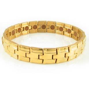 Full Gold Titanium Bracelet