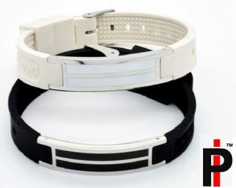 Stainless Steel and Silicone Bracelets