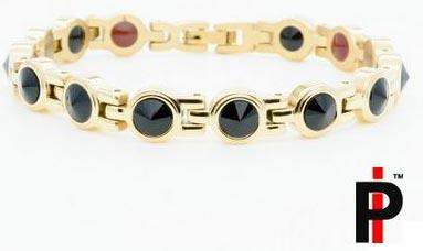 Swarovski Black Gold Bracelets