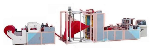 Fully Automatic Non-woven Fabric Bag Making Machine