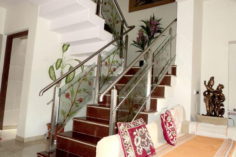 Buy Steel Glass Staircase Railings From Malviya Steel