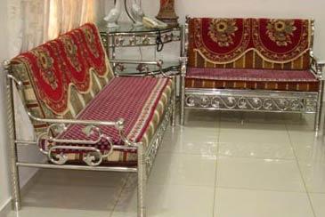 Buy Steel Sofa Set From Malviya Steel Beawar India Id 808581