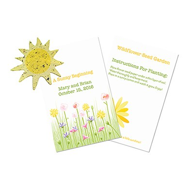 A Sunny Beginning Card
