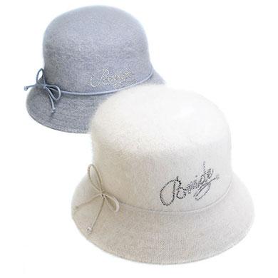 Angora Down Brim Hat