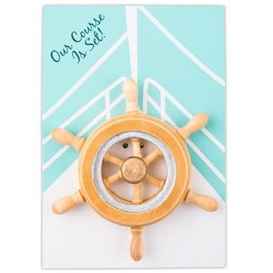Boat Wheel Magnet Favor Gift
