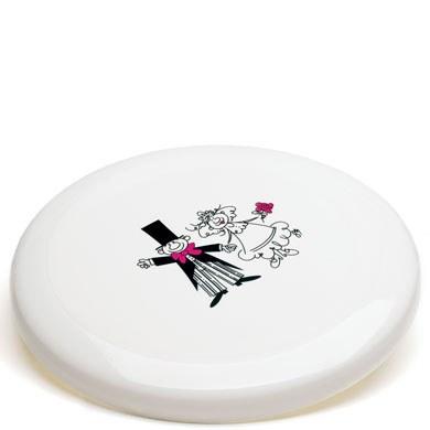 Bride & Groom Frisbee