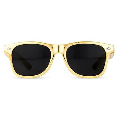 Cool Favor Sunglasses - Metallic Gold