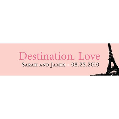 Destination Love - Eiffel Tower Card