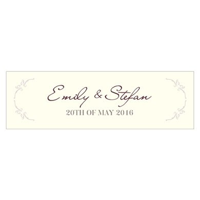 Equestrian Love Small Rectangular Tag