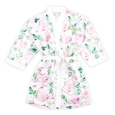 Floral Silky Kimono