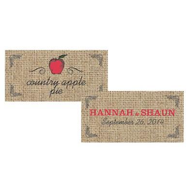 Fruit Themed Small Rectangular Tags