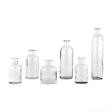 Glass Bottle Set