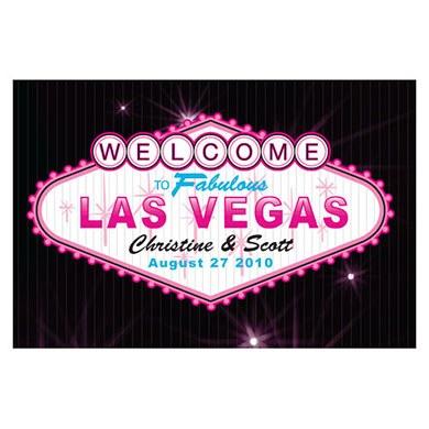 Las Vegas Large Rectangular Tag
