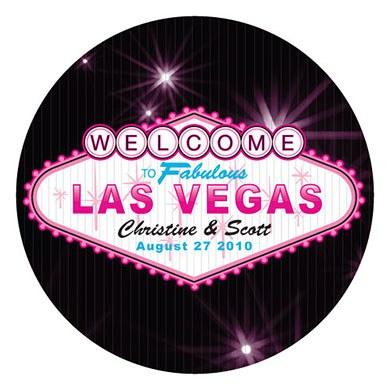 Las Vegas Large Sticker