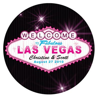 Las Vegas Small Sticker