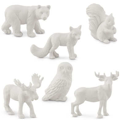 Miniature Woodland Assorted Animal Set