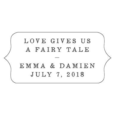 Modern Fairy Tale Diecut Sticker