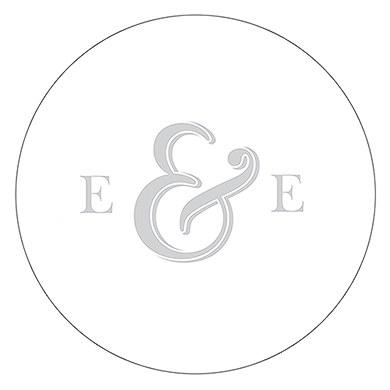 Monogram Simplicity Small Sticker