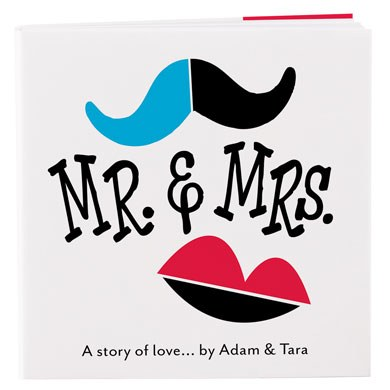 Mr. & Mrs. A Story Of Love Cover Wedding Favor Notepad