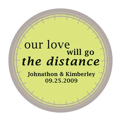 Our Love Will Go The Distance Stickers