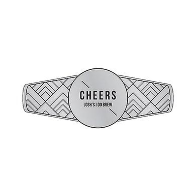 Personalized Beer Bottle Neck Label