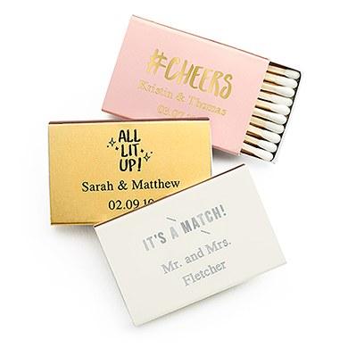 Personalized Matchbox