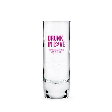 Personalized Tall Shot Glass