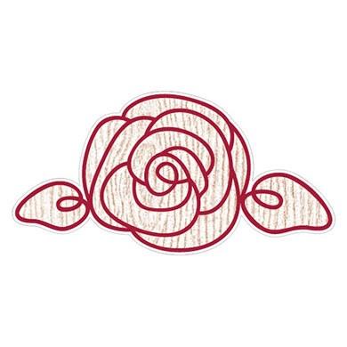 Rose Die Cut Sticker