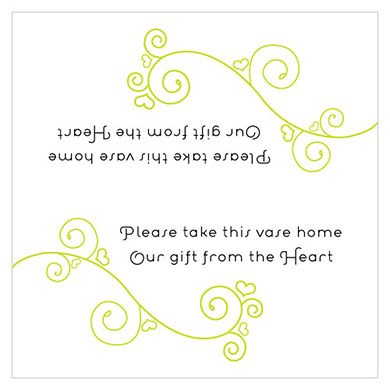 Small Instructions Card