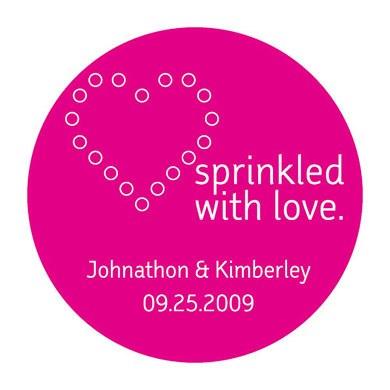 Sprinkled Love Stickers