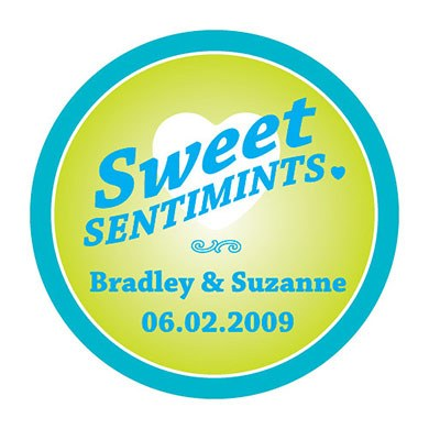 """Sweet Sentimints"" Stickers"