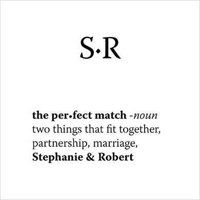 """""""The Perfect Match"""" Dictionary Cards"""