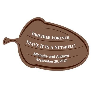 Together Forever Acorn Sticker