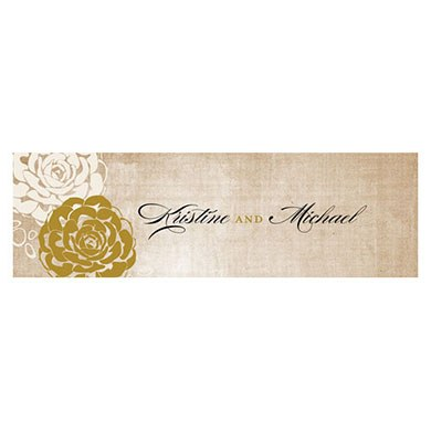 Vintage Lace Small Rectangular Tag