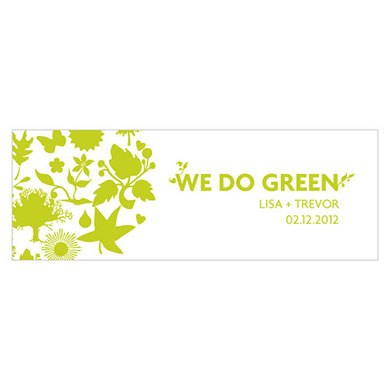 We Do Green Tag