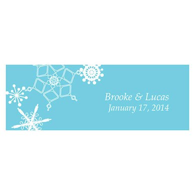 Winter Finery Small Rectangular Tag