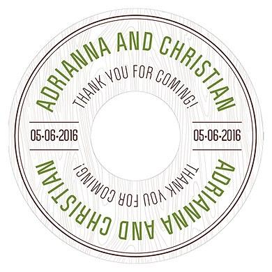 Woodland Diecut CD Label