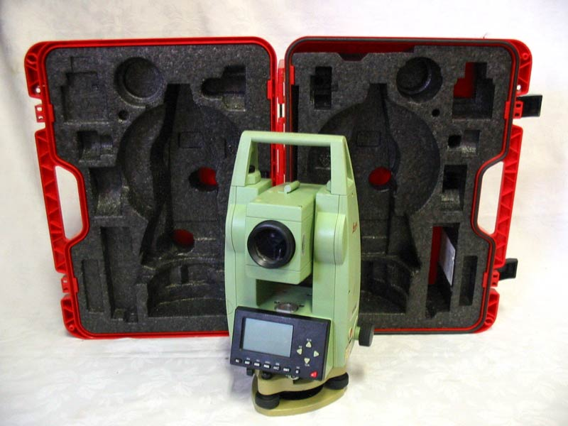 Used Leica Tcr 303 3 Reflectorless Total Station