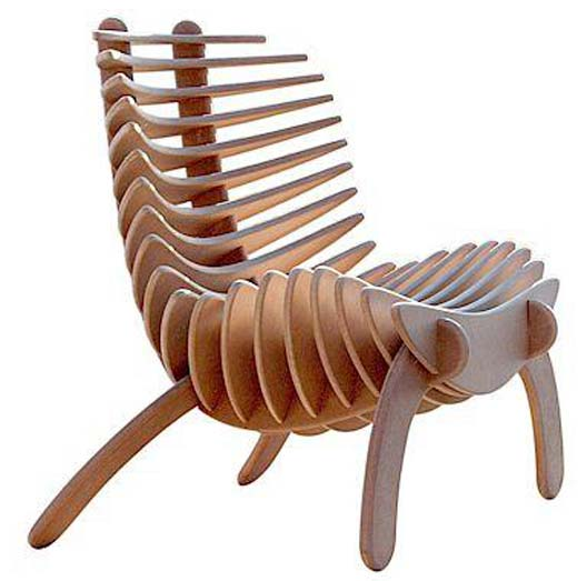 buy wooden fishbone chairs from my home furniture berhampur india