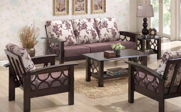 Wooden Sofa Set. Buy Wooden Sofa Set from My Home Furniture  Berhampur  India   ID