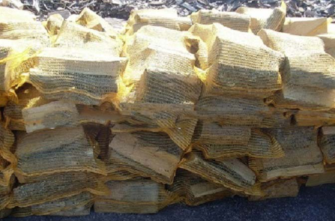 Firewood on pallets 2m3+ (Buyers Request Packing)