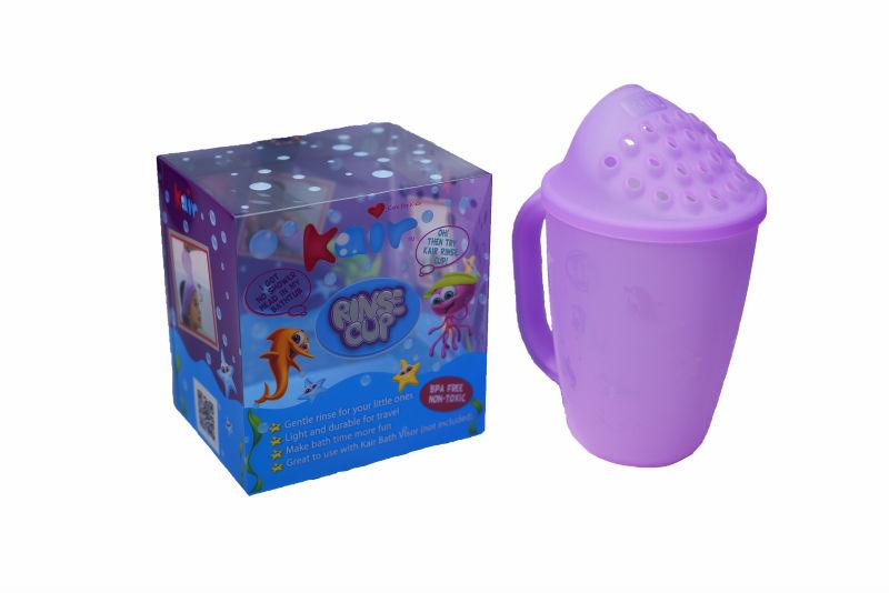 baby kids infant bath shower shampoo rinse cup (Baby Bath Cup)