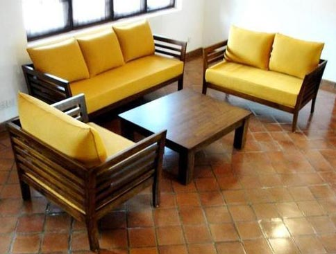 Buy Wooden Sofa Set From Punjab Furniture Palace Nabha India Id