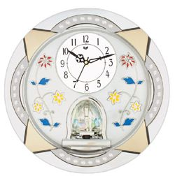 Rotating Wall Clocks