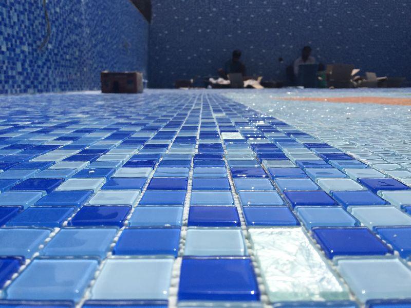 Crystal Glass Mosaic Tiles (Swimming Pool Mosaic)