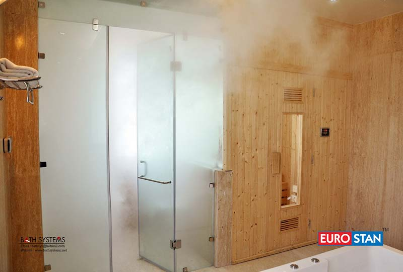 Steam Bath, Sauna Bath, Shower Enclosures, Bathtubs & Spa ...
